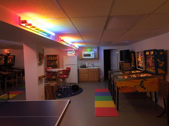 bathroom light bars for gameroom lighting a