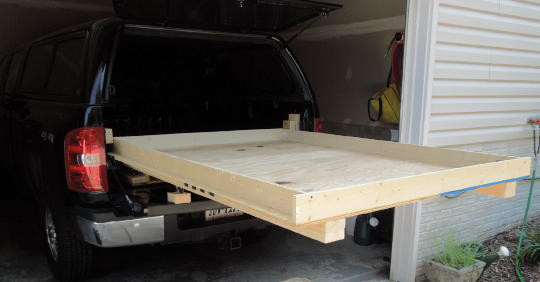 Homemade Truck Camper Pop Up Plans In Addition Homemade Slide In Truck ...
