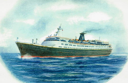 Jeffs Stella Solaris Cruise Page - Cruise ship drawings