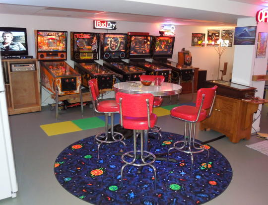 Man Cave Ideas Nerd : Jeff's pinball pages