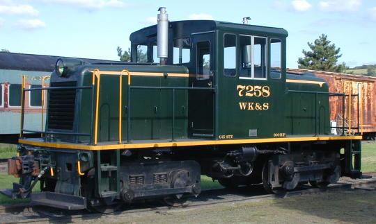 Locomotive #7258
